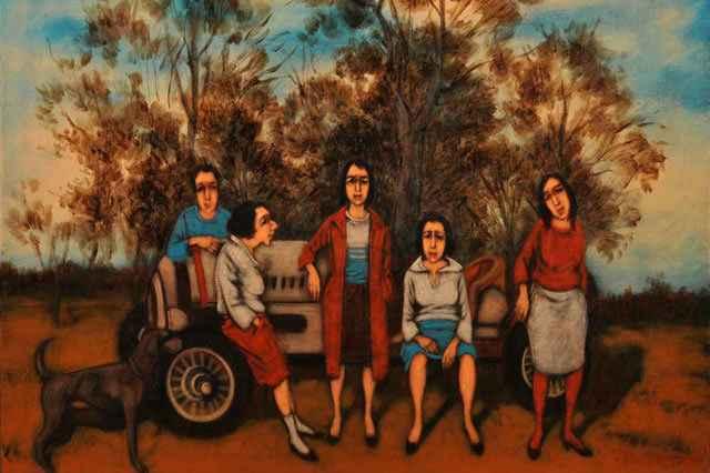 « Yüzleşme - Confrontation » Resim Sergisi - Painting Exhibition